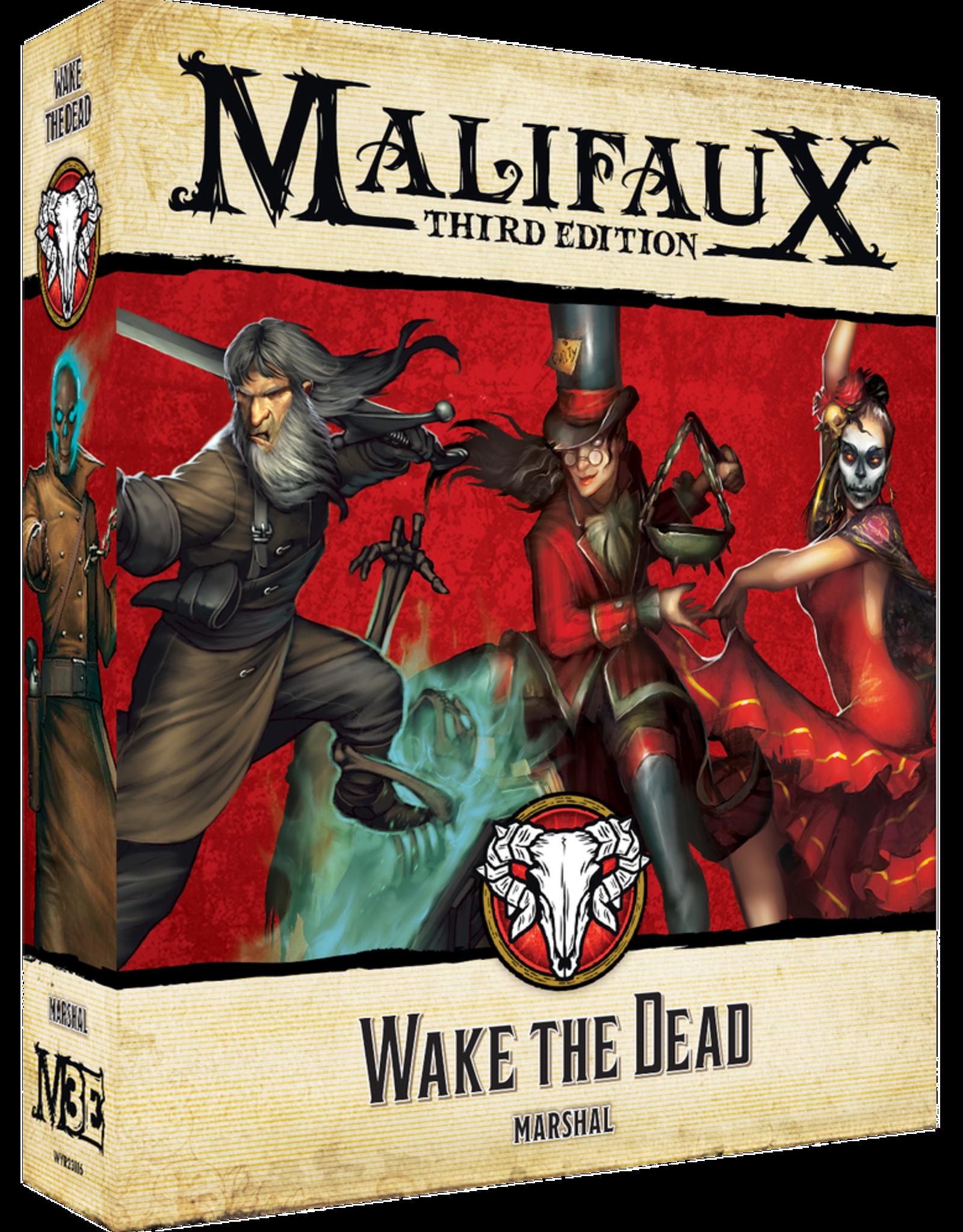 WYR - Malifaux Miniaturen Malifaux 3rd Edition - Wake the Dead - EN