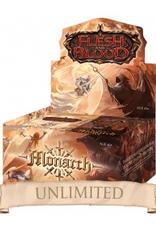FB - Display Flesh & Blood TCG - Monarch Unlimited Booster Display (24 Packs) - EN