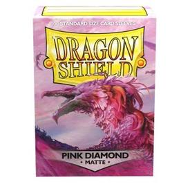 DS - Standard Sleeves Dragon Shield Standard Sleeves - Pink Diamond (100 Sleeves)