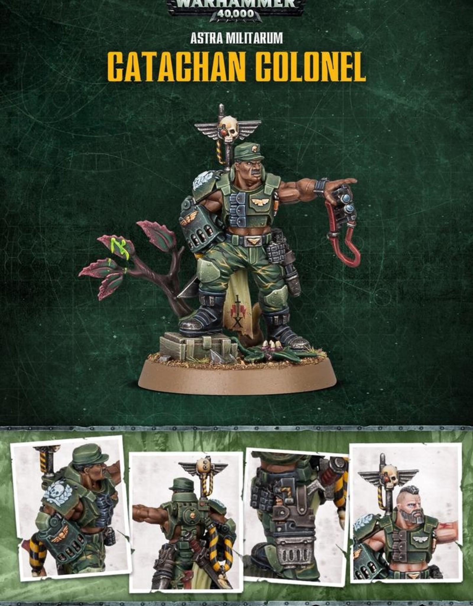 GW - 40k Astra Militarum Catachan Colonel