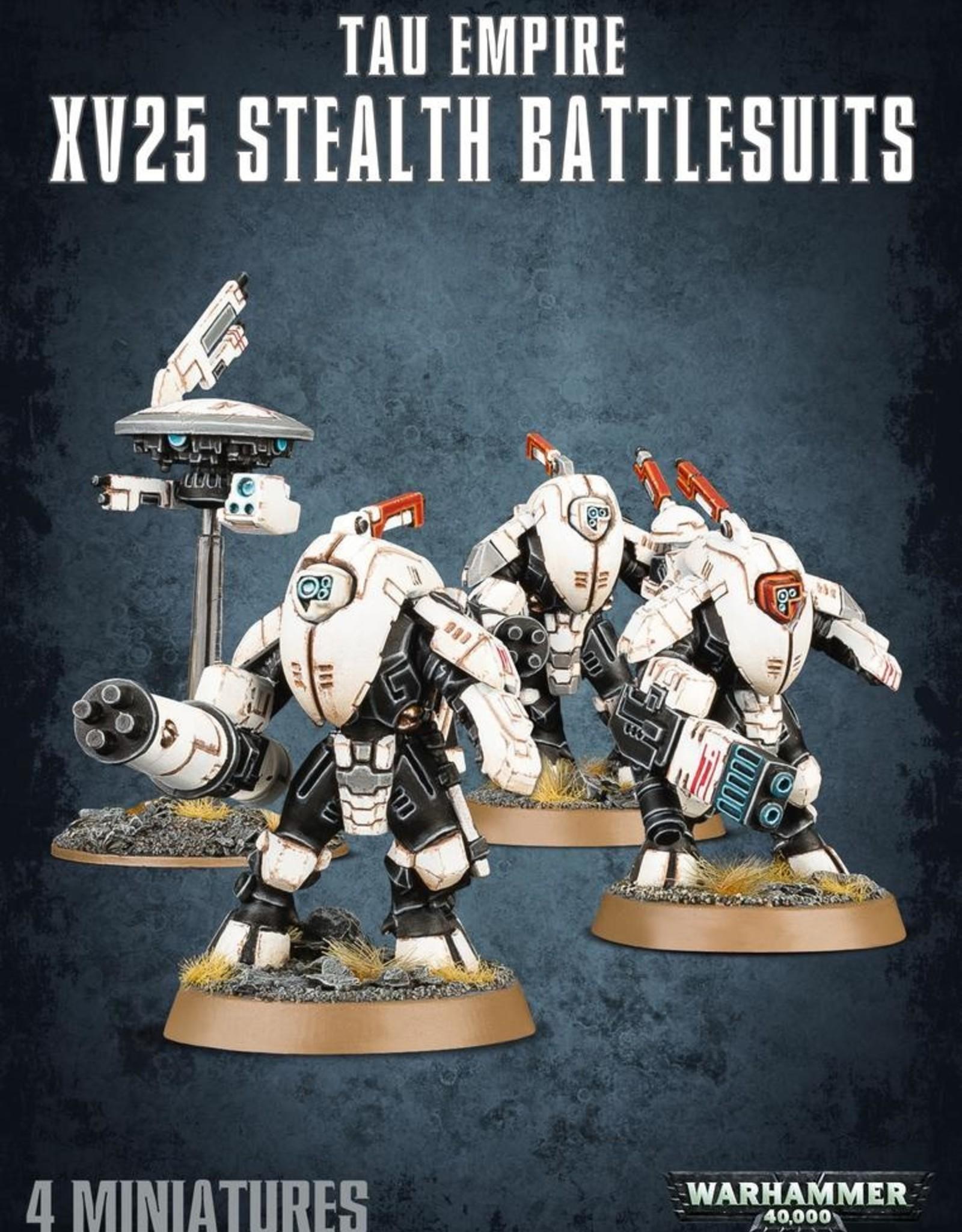 T'au Empire XV25 Stealth Battlesuits