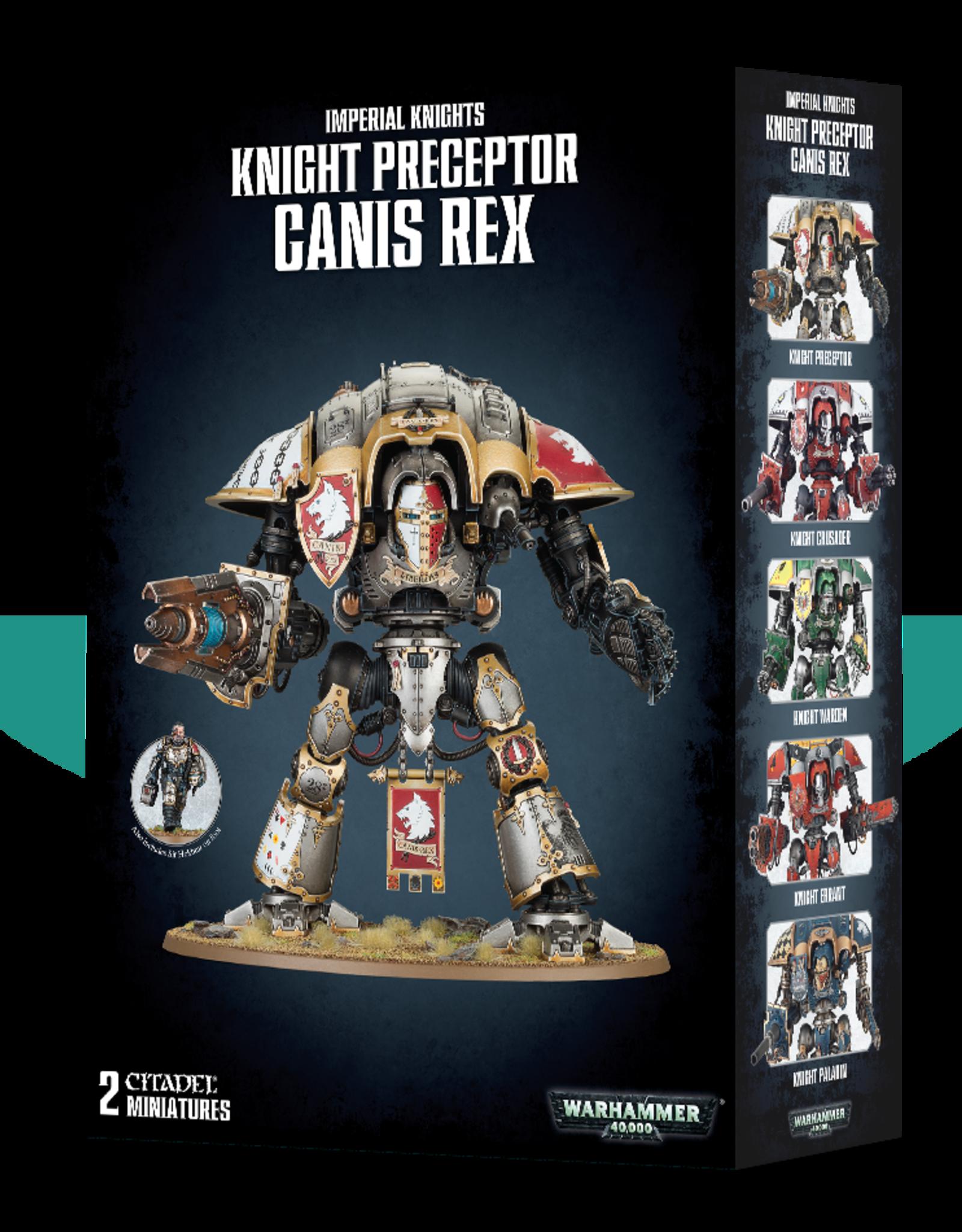 GW - 40k Knight Preceptor Canis Rex