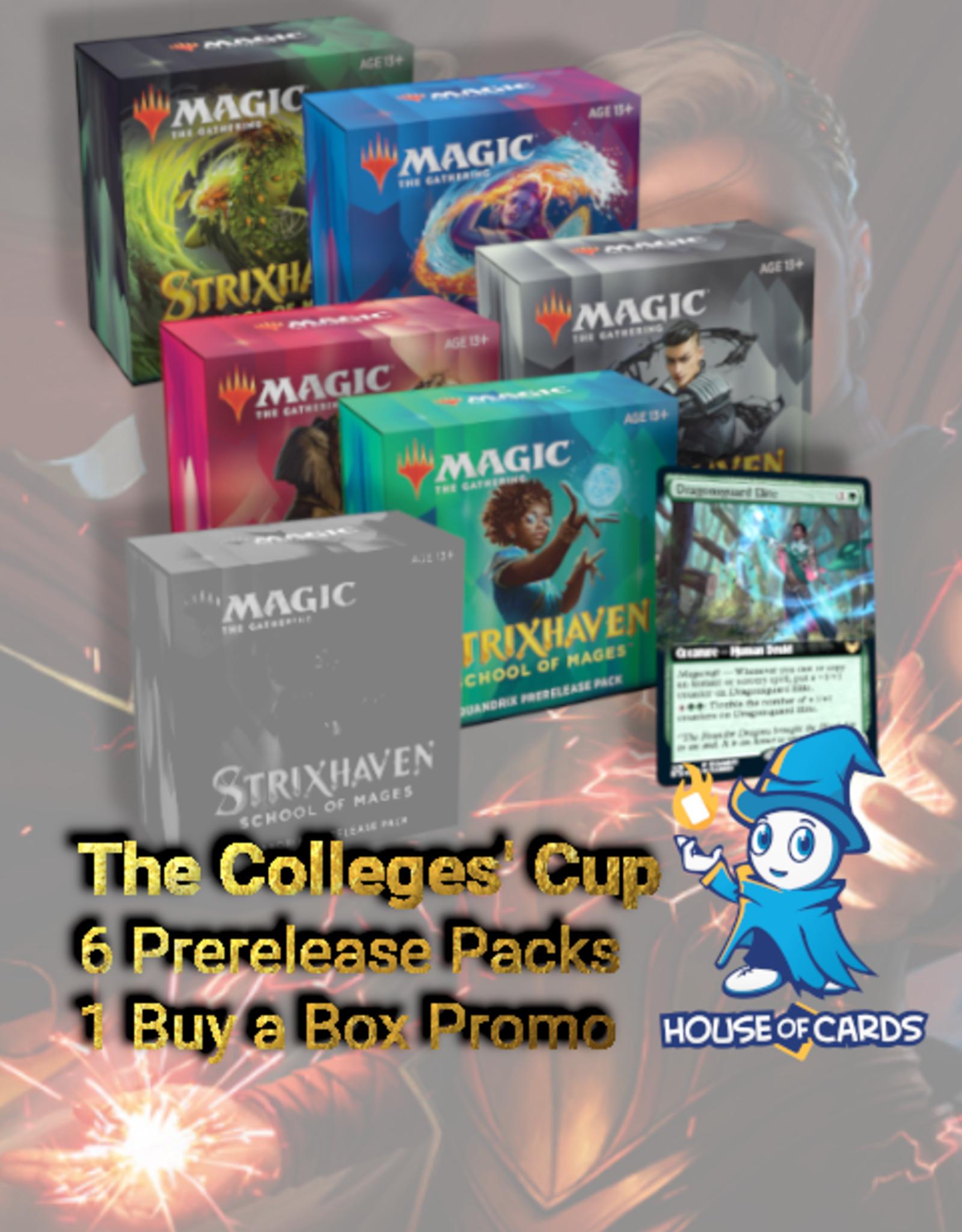 MTG - Strixhaven Strixhaven Colleges' Cup Combo - Prerelease Packs