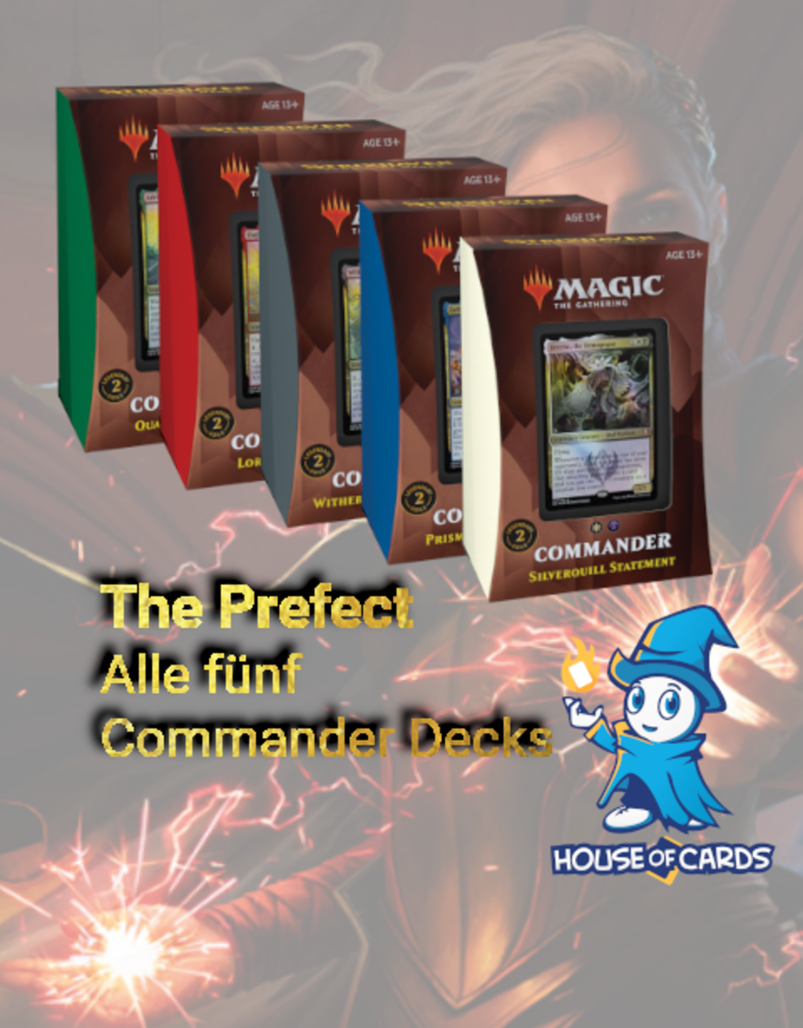 MTG - Strixhaven Strixhaven Prefect Combo - Commander Decks