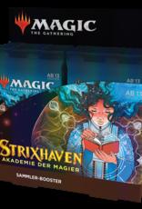 MTG - Strixhaven MTG - Strixhaven: Akademie der Magier Sammler-Booster Display (12 Packs) - DE