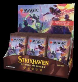 MTG - Strixhaven MTG - Strixhaven: School of Mages Set Booster Display (30 Packs) - EN