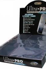 UP - 9-Pocket Pages UP - Platinum 9-Pocket Pages (11 Hole) Display (100 Pages)