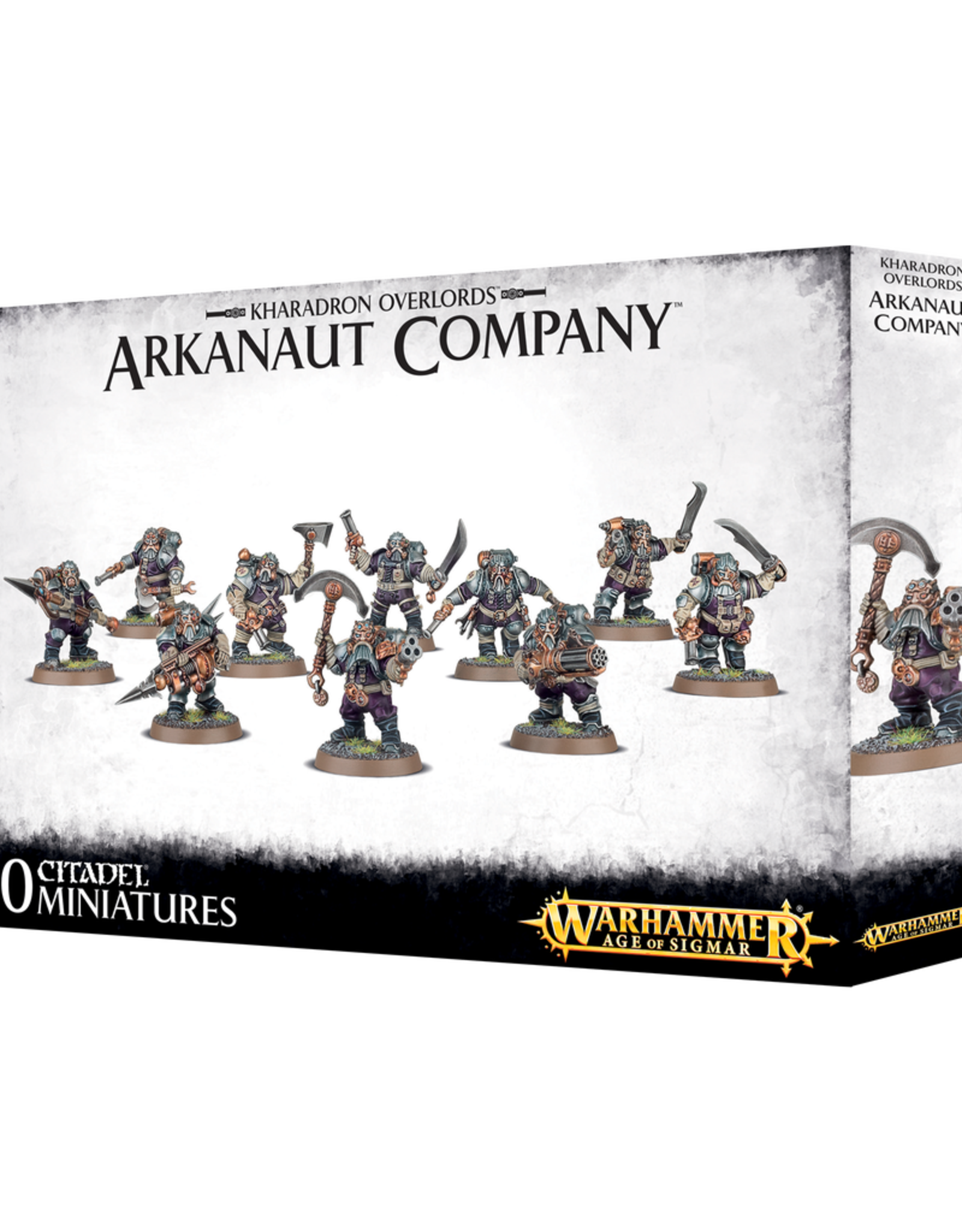 GW - AOS Kharadorn Overlords Arkanaut Company