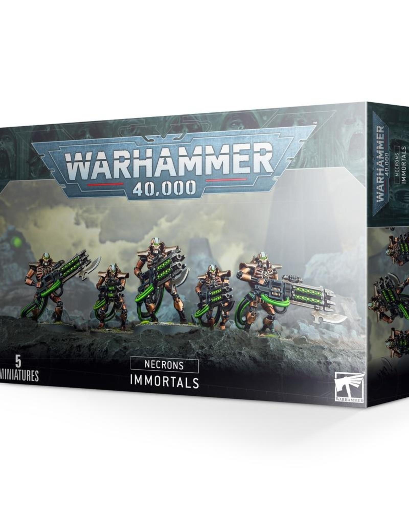 GW - 40k Necrons: Immortals