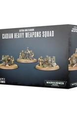 GW - 40k Astra Militarum Cadian Heavy Weapon Squad