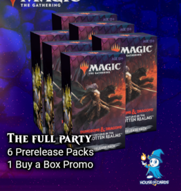 MtG - Adventures in the Forgotten Realms The Full Party - Adventures in the Forgotten Realms Prerelease Packs