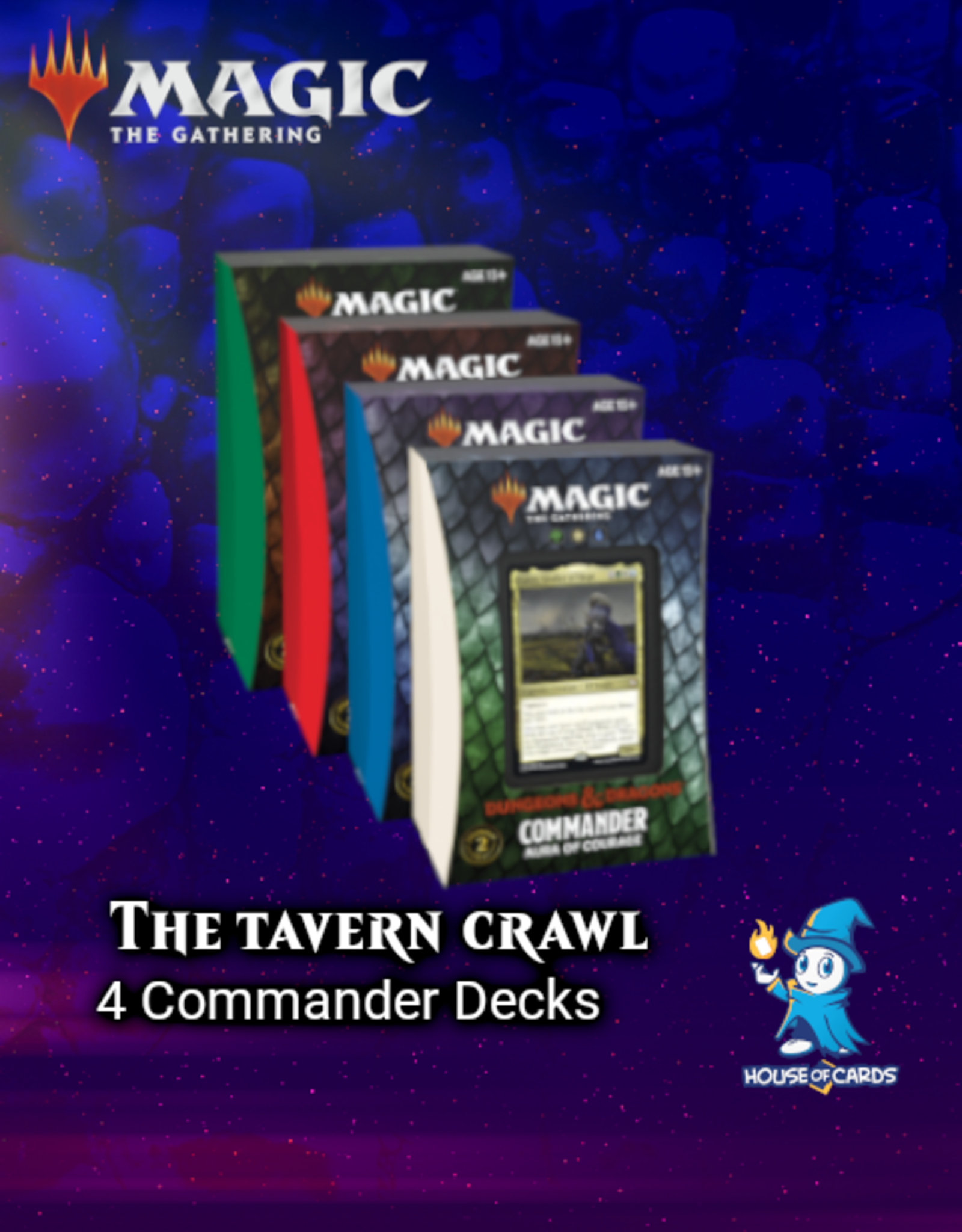 MtG - Adventures in the Forgotten Realms The Tavern Crawl - Commander Decks