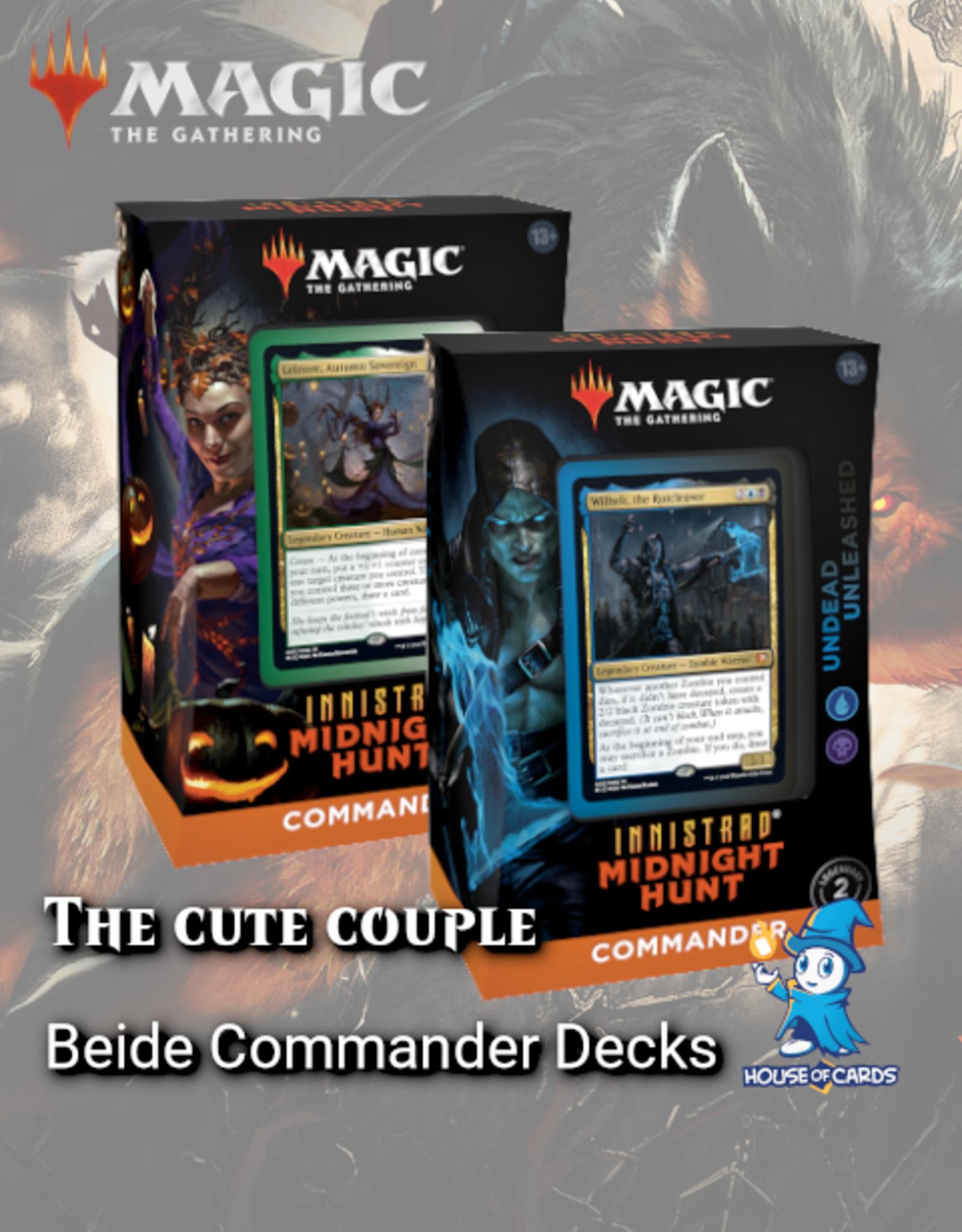 MtG - Innistrad Midnight Hunt The Cute Couple - Innistrad Midnight Hunt Commander Decks
