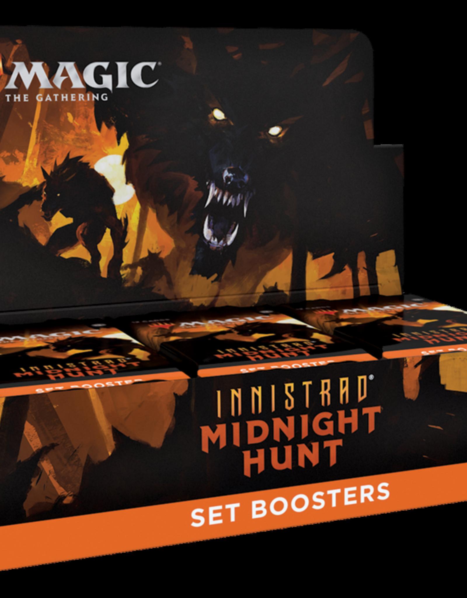 MtG - Innistrad Midnight Hunt Innistrad Midnight Hunt Set Booster Display