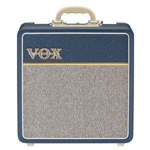 """Vox AC4C1-BL 4W Valve Amp Combo, 1 x 10"""" Celestion Custom Speaker, Blue"""