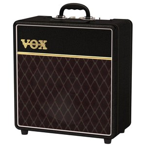 "Vox AC4C1-12 4W Valve Amp Combo, 1 x 12"" Celestion Custom Speaker, Classic Vox Finish"