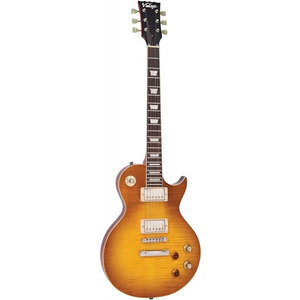 Vintage V100 Guitar, Lemon Drop