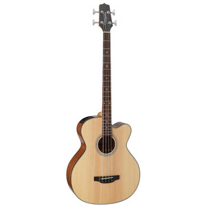 Takamine GB30CE-NAT Acoustic Bass, Solid Spruce Top, Mahogany Back w/ TK-40D Pickup