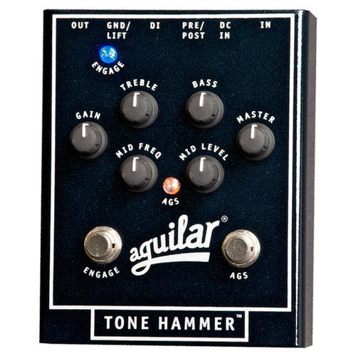 Aguilar Aguilar Effects Pedal Tone Hammer Preamp Direct Box