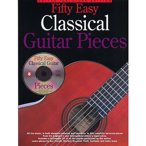 Amsco Publications Fifty Easy Classical Guitar Pieces