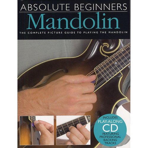 Amsco Publications Absolute Beginners: Mandolin