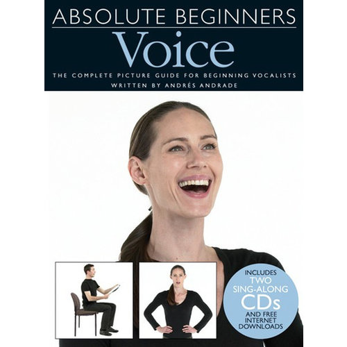 Wise Publications Absolute Beginners: Voice (Book And 2 CDs)