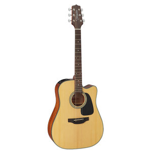 Takamine GD10CE-NS Dreadnought Cutaway, Natural Spruce Top, Mahogany Back w/ TP-4T Pickup