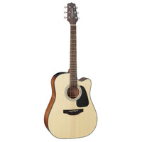 Takamine GD30CE-NAT Dreadnought Cutaway, Solid Spruce Top, Mahogany Back w/ TP-4TD Pickup, Natural