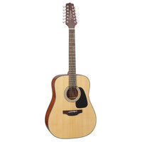 Takamine GD30-12-NAT 12-String, Dreadnought, Solid Spruce Top, Mahogany Back