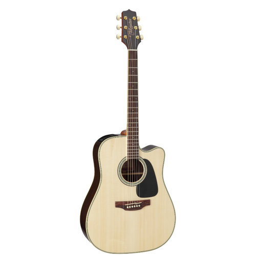 Takamine Takamine GD51CE-NAT Dreadnought, Cutaway Electro, Solid Spruce Top, Rosewood Back
