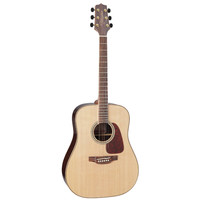 Takamine GD93-NAT Dreadnought, Solid Spruce Top, Rosewood & Quilt Maple Back