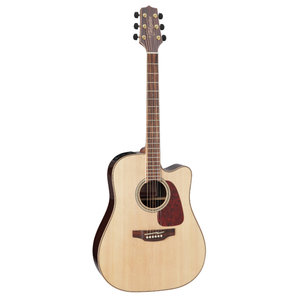 Takamine GD93CE-NAT Dreadnought, Solid Spruce Top, Rosewood & Quilted Maple Back w/ TK-40D Pickup