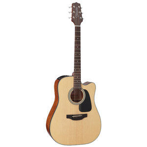 Takamine GD15CE-NAT Dreadnought Cutaway, Natural Spruce Top, Mahogany Back w/ TP-4T Pickup
