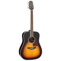 Takamine GD71-BSB Dreadnought, Sunburst Solid Spruce Top, Rosewood Back