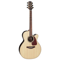 Takamine GN93CE-NAT NEX Cutaway, Solid Spruce Top, Rosewood & Quilted Maple Back w/ TK-40D Pickup