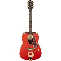 Gretsch G5034TFT Rancher with Fideli'Tron Pickup and Bisgby Tailpiece Electro-Acoustic, Savannah Sunset