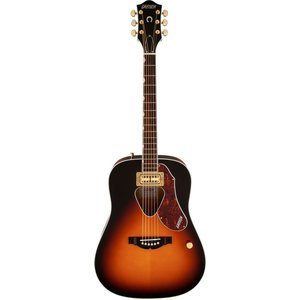 Gretsch G5031FT Rancher Dreadnought Electro-Acoustic with Fideli'Tron Pickup, Sunburst