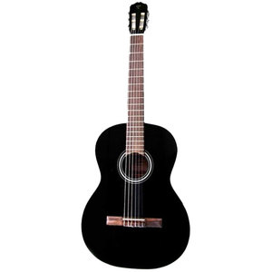 Takamine GC3-BLK Classical Solid Spruce Top, Maghogany Back, Black