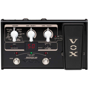 Vox Stomplab Guitar SL2G Multi-FX w/Expression Pedal