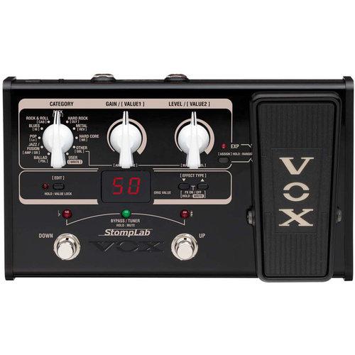 Vox Vox Stomplab Guitar SL2G Multi-FX w/Expression Pedal