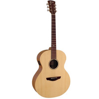 Faith Naked Neptune, Electro-Acoustic, All Solid, Engelmann Spruce Top, Mahogany Back