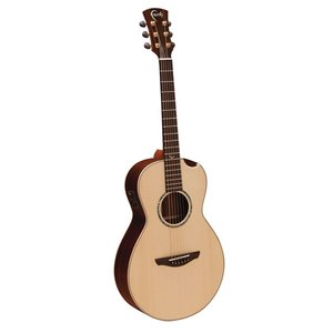Faith Hi-Gloss Mercury Electro-Acoustic Scoop, All Solid, Engelmann Spruce Top, Rosewood Back