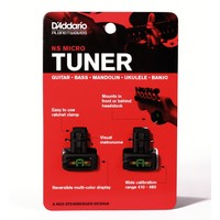 Planet Waves PW-CT-12 NS Micro Headstock Tuner, Value Twin Pack