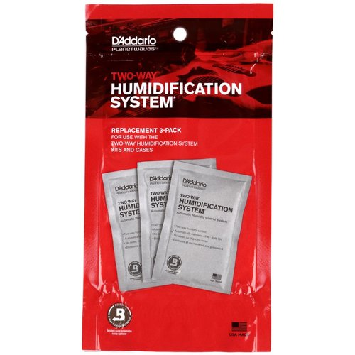 Planet Waves Planet Waves Humidipak System Replacement Packets - 3-pack