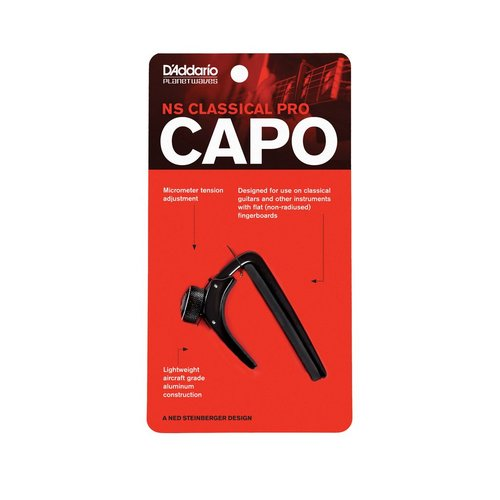 Planet Waves Planet Waves NS Classical Guitar Capo, Black