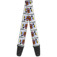 Buckle Down King of Spades Guitar Strap