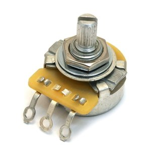 CTS 250k Potentiometer Split Knurled Shaft, Vintage Style