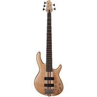 Cort A5 Artisan 5-String Bass Guitar, Active w/Bartolini Pickups, Open Pore Natural