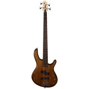 Cort Action PJ Bass Guitar, Open Pore Walnut