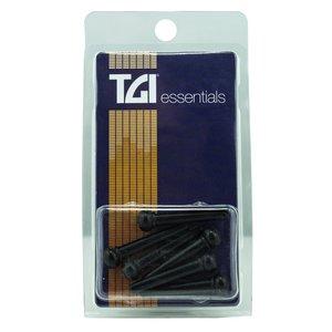 TGI Bridge Pins, Plastic, Black